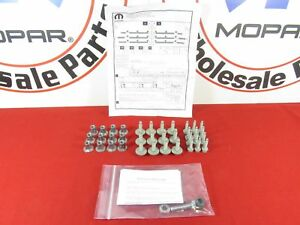 68193128AB DODGE RAM 1500-5500 Tubular Side Step Mounting Hardware Kit OEM MOPAR