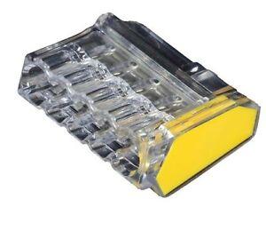 ViD Verbindungsklemmen Steckklemmen 1,0 - 2,5 mm² (100 Stück) Dosenklemmen 5-pol