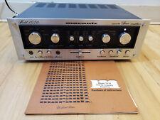 Marantz 1070 Stereo Console Amplifier- Near Mint. Serviced.