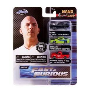 """Nano Hollywood Rides: 1.65"""" Fast & Furious Series 2"""