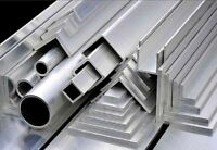 ALUMINIUM EQUAL ANGLE 25mm x 25mm, 30mm x 30mm, 40 x 40mm, 50 x 50mm,