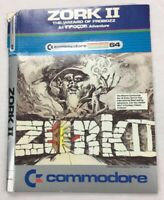 Zork II: The Wizard of Frobozz 1983 Commodore 64 Infocom Adventure Game Software