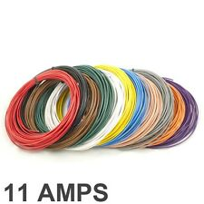*11 AMP Rated* 0.5mm2 Thin Wall Single Core Cable / Wire - 11 Colour Selection
