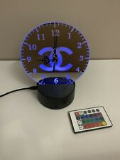 Decorative Clock on a light up stand Personalise With A Name Or Different Design