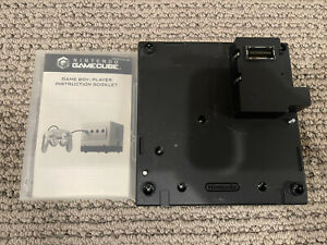Nintendo GameCube Gameboy Player And Gameboy Player Disc Tested And Working