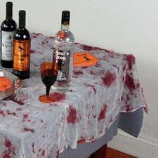 Gasa Sangriento MANTEL Halloween Fiesta Vajilla