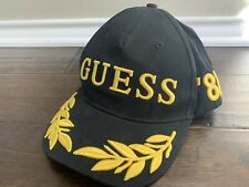 GUESS Gumball 3000 Black Snapback Baseball Hat. NEW WITHOUT TAGS