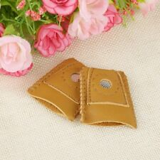 2x Large Size Leather Thimble Sewing Quilting Leather Craft Finger Protector