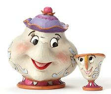 Disney Traditions Mrs Potts & Chip Ornament A Mother's Love Resin Figurine Gift