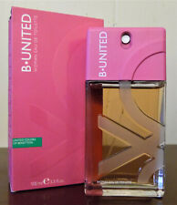 B* UNITED UNITED COLORS BENETTON 3.3OZ / 100ML EDT SPY PERFUME WOMEN DISCONTINUE