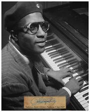 THELONIOUS MONK Jazz Piano  Legend 1947 8 X10 PHOTO AUTOGRAPH RP