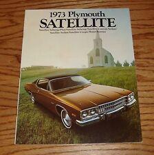Original 1973 Plymouth Satellite Sales Brochure 73 Road Runner