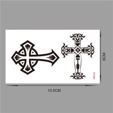 Large Cross Celtic Crosses Body Art Icons Temporary Fake Tattoo