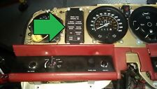 81 to 89 Rolls Royce Silver Spur Spirit WARNING RED dash board   Light panel