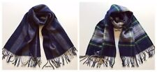 J.Crew Reversible Brushed Scarf In Plaid/Stripes NWT