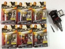G I JOE MOVIE RETALIATION LADY JAYE ROADBLOCK JOE CALTON FIREFLY VIPER NINJA etc