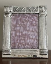 """Massive Mexican .925 Sterling Silver Frame 19.5X16.5"""" by Bernice Goodspeed"""