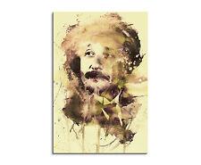 90x60cm PAUL SINUS Splash Art Gemälde Kunstbild Albert Einstein