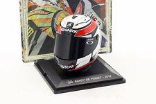 Randy de Puniet MotoGP 2012 casco 1 5 Altaya