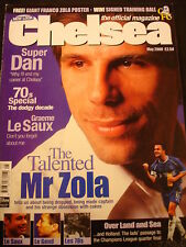 Chelsea Football Club FC Mag Magazine May 2000 Zola