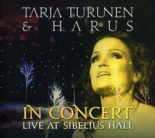 TARJA TURUNEN & HARUS In Concert - Live At Sibelius Hall CD Digipack 2011
