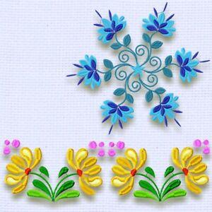 Floral Fun 20 MACHINE EMBROIDERY DESIGNS
