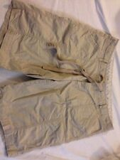 Cotton Khaki, Chino Machine Washable Regular Shorts for Women