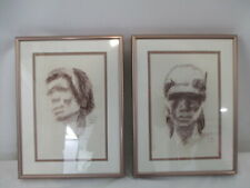 "Linda Hoyle Gull Artwork in Beautiful Frames, (9.25"" x 12.25"")"