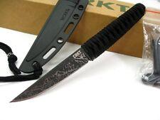 Couteau CRKT Obake Acier 8Cr14MoV Black Paracord Etui Kydex CR2367