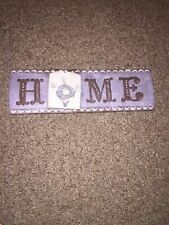 Ceramic Home Sign