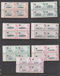 Nice Tristan Da Cunha u/mint Blocks selection
