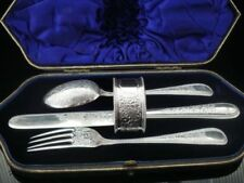 1900-1940 Antique Solid Silver Cutlery Cutlery Sets
