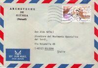 BELGIQUE - BELGIE - INTERESSANTE BUSTA DA BRUXELLES A BOLOGNA - 1997