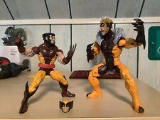 """Hasbro Marvel Legends X-Men Apocalypse BAF Wave 6"""" Sabretooth & Wolverine Lot"""