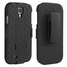 Samsung Galaxy S4 Belt Clip Holster Combo Cell Phone Case With Kick Stand Cover