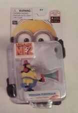 Despicable Me 2 Minion Fireman (BEE-DO) Poseable Action Figure Factory Sealed