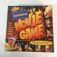 BlockBuster Movie Game By Grand Isle Board Games 2000 2+ Players 99.9% Complete