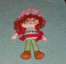 Vintage Strawberry Shortcake 15 Inch Cloth Rag Doll