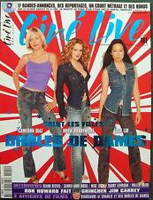 Ciné Live  N°41  12-2000     Drôles de Dames          CD-ROM  +  Affiches