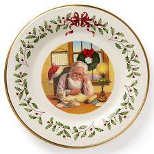 Lenox 2016 Annual Christmas 26th Collector's Plate - Nib Fireplace