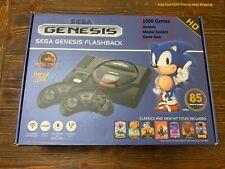 Sega Genesis Flashback Console with 1500 Games Genesis Master System Game Gear