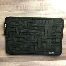 Cocoon Grid It Organizer 8x12 Black Zip Pocket