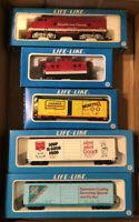 Life Like Campbell's Soup Train Set HO Scale Complete Set Tested
