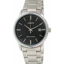 Casio Men's Analog Quartz Date Stainless Steel Watch MTPV002D-1A