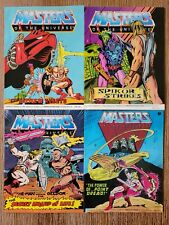 MOTU Vintage Mini Comics Lot Of 4 Masters Of The Universe He-Man All Different
