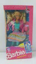 Sun Charm 'Cowboy' Barbie Doll Mint in Box 1989