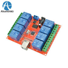 12v Usb Relay 8 Channel Programmable Computer Control For Smart Home Control
