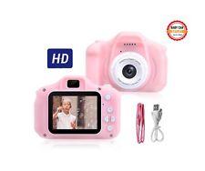 TOYS Macchina Fotografica per Bambini Fotocamera 1080 FULL HD  (Rosa)