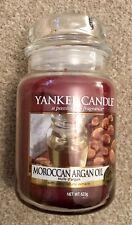 Yankee Candle - Moroccan Argan Oil - Large Jar - 623g - Rare - Retired