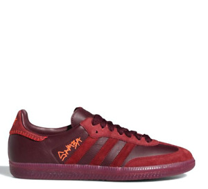 Adidas  x Jonah Hill Samba Lifestyle Sneakers Shoes Red FW7456 Size 4-12